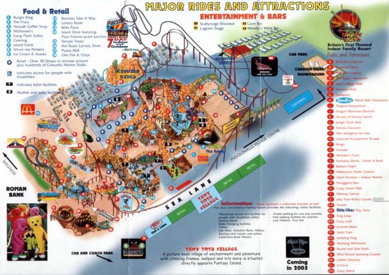 pleasure island guide book orlando